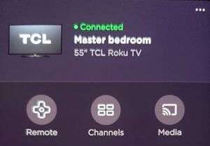 Not Cable Roku App Device Control