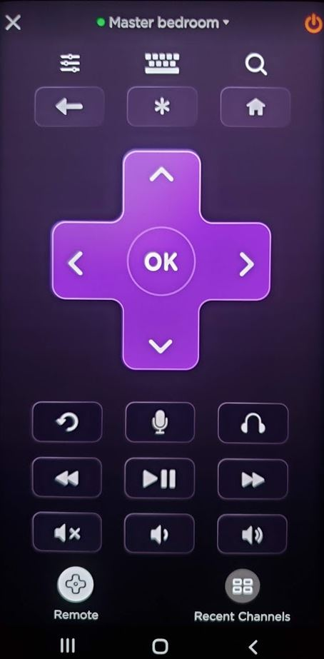 Not Cable Roku App Remote Control